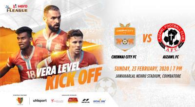 Hero I League 2019-20: Chennai City FC vs Aizawl FC