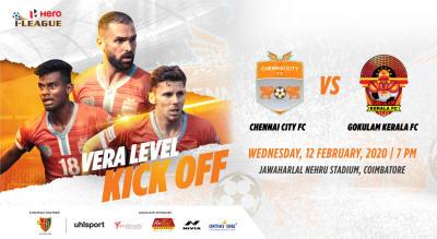 Hero I League 2019-20: Chennai City FC vs Gokulam Kerala FC
