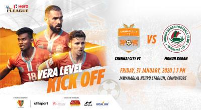 Hero I League 2019-20: Chennai City FC vs Mohun Bagan