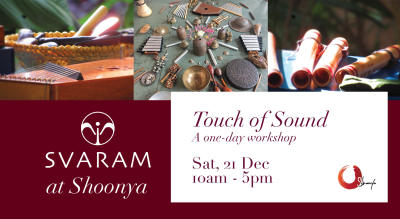 Touch of Sound - A one day workshop