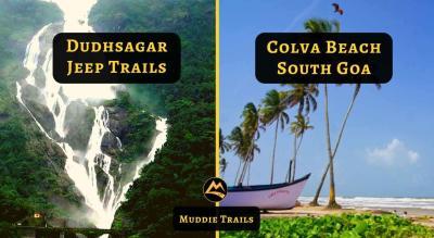 South Goa with Dudhsagar Jeep Ride, Tambdi Surla Waterfalls Trek
