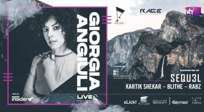 Giorgia Angiuli (Live) in Hyderabad