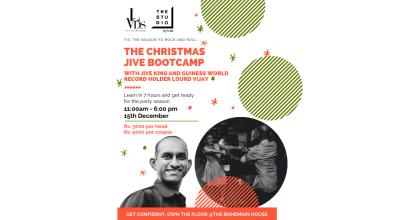 The Christmas Jive Bootcamp