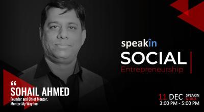 Social Entrepreneurship - With Sohail Ahmed