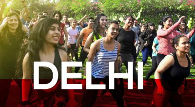 Jockey Morning Fitness Party - Delhi