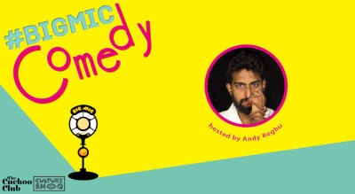 BIGMIC.IN Comedy Open Mic hosted by Andy Reghu