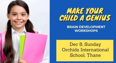 Genius Minds - Free Brain Development Workshop for kids aged 5 to 16 yrs