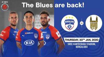 Hero Indian Super League 2019-20: Bengaluru FC vs Hyderabad FC