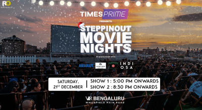 SteppinOut Movie Nights  - Christmas Edition | Bangalore