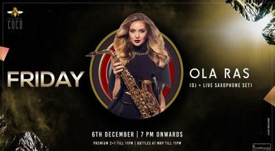 Friday feat Ola Ras (DJ + Live Saxophone Set)