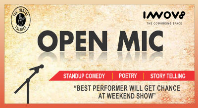 Open Mic: Stand Up Comedy, Poetry, Storytelling
