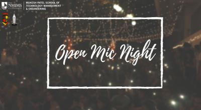 MPSTME's Open Mic Night