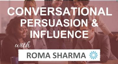 2-Day Certification Program - Conversational Persuasion & Influence