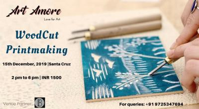 WoodCut PrintMaking Workshop, Mumbai