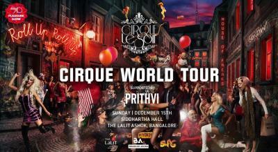 Cirque le Soir World Tour - The LaLiT Ashok Pop up