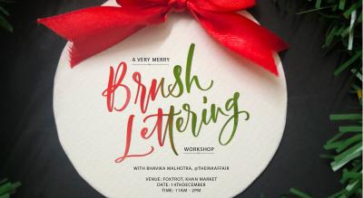 Brush Lettering Workshop - Christmas Special