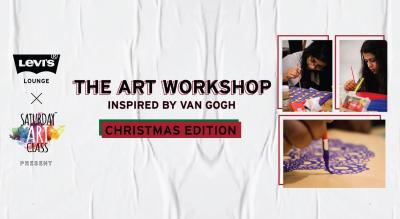 Levi's® Lounge x Saturday Art Class present The Art Workshop inspired by Van Gogh
