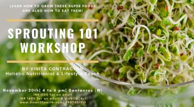 Sprouting 101 Workshop