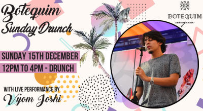 Botequim Sunday Drunch ft. Vyom Joshi