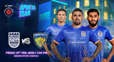 HERO Indian Super League 2019-20: Mumbai City FC vs Chennaiyin FC