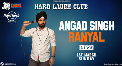 Punchliners Comedy Show ft Angad Live in Gurgaon