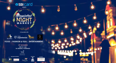 SteppinOut Night Market - Christmas Edition | Hyderabad