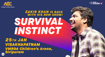 Survival Instinct A New Stand up Special by Zakir Khan | Vizag