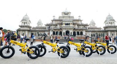 B:Live E-bike Tours -  Regal Ride of Jaipur