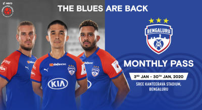 HERO ISL 2019 - 20 : Bengaluru FC Monthly Pass