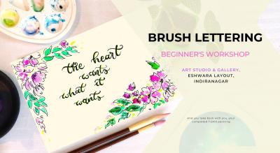 Brush Lettering Painting Party with Sai Priya Mahajan