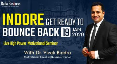 Bounce Back 2.0 By Asia's No  1 Motivational Speaker In Indore