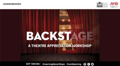 Backstage: A Theatre Appreciation Workshop