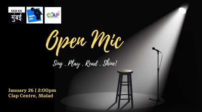 Open Mic At Clap Center, Malad