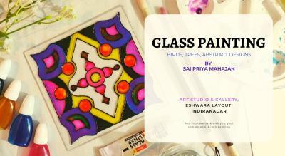 Designs on Glass Painting Workshop Indiranagar
