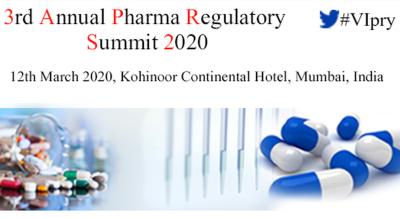 3rd Annual Pharma Regulatory Summit 2020
