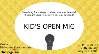 Open Mic for KIDS
