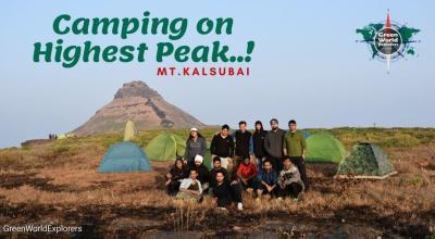 Camping on Highest Peak Mt.Kalsubai