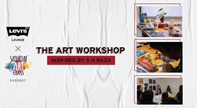 Levi's® Lounge x Saturday Art Class present The Art Workshop Inspired by SH Raza