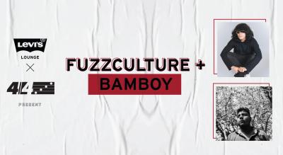 Levi's® Lounge x 4/4 Experiences present Fuzzculture + BamBoy