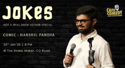 JOKES : Not A Trial Show Neither Special | Comic: Harshil Pandya