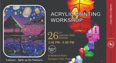 Lantern Acrylic Painting Workshop