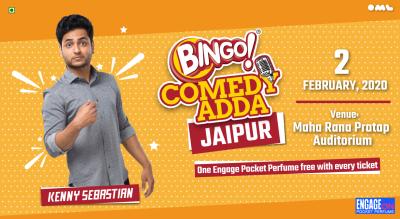 Bingo comedy Adda present Kenny Sebastian | Jaipur