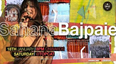 Jamsteady with Sahana Bajpaie