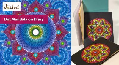 Dot Mandala on Diary
