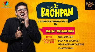 Bachpan : A Standup Comedy Solo by Rajat Chauhan