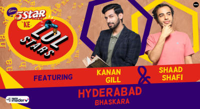 5Star ke LOLStar ft. Kanan Gill & Shaad Shafi | Hyderabad