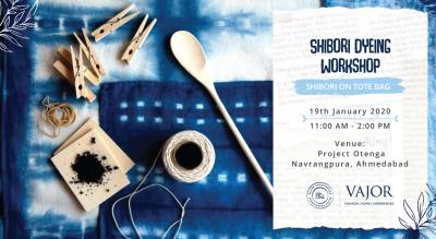 Shibori Dyeing Workshop by Vajor