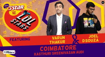 5Star ke LOLStars ft Varun Thakur & Joel D'Souza   Coimbatore