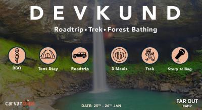 Roadtrip, Trek and Forest Bathing at Devkund