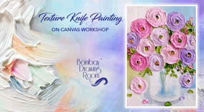 Texture Knife Painting on Canvas Workshop by Bombay Drawing Room